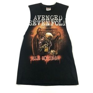 Tops - Vintage Avenged Sevenfold Tank Top Cut Tour Small
